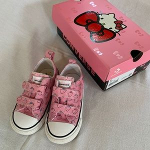 Hello Kitty Converse Sneakers